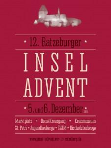 Insel-Advent 2015 Plakat